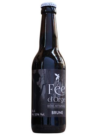 biere artisanale fee d'orge brune